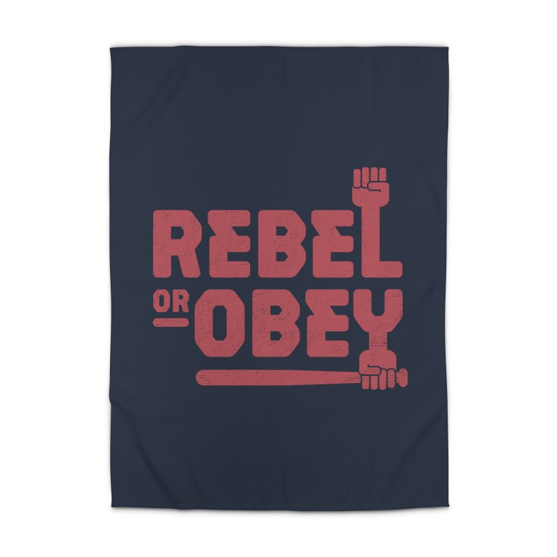 Rebel or Obey Home Rug by thepapercrane's shop