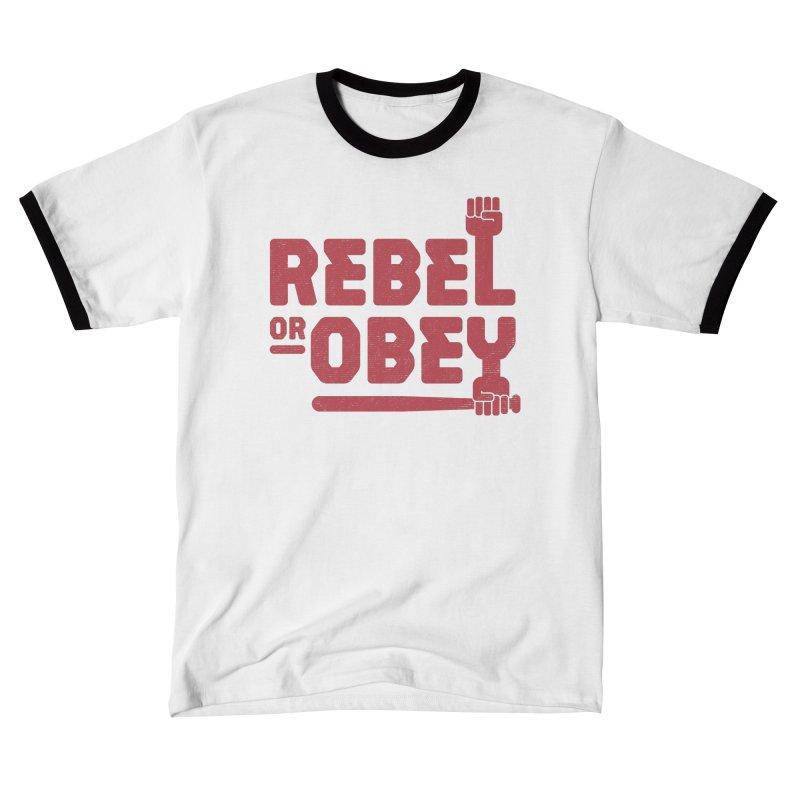 Rebel or Obey Women's T-Shirt by thepapercrane's shop