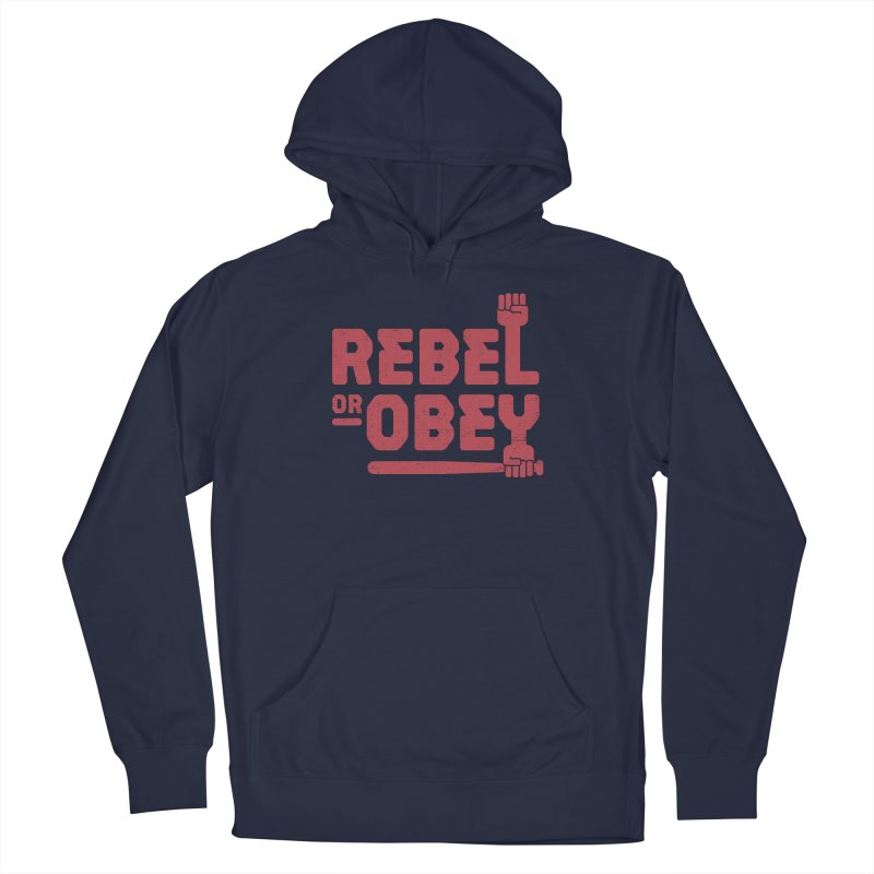 Rebel or Obey Men's Pullover Hoody by thepapercrane's shop