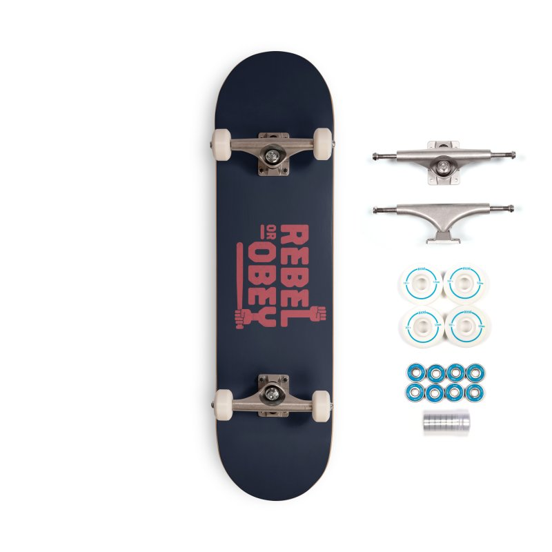 Rebel or Obey Accessories Skateboard by thepapercrane's shop