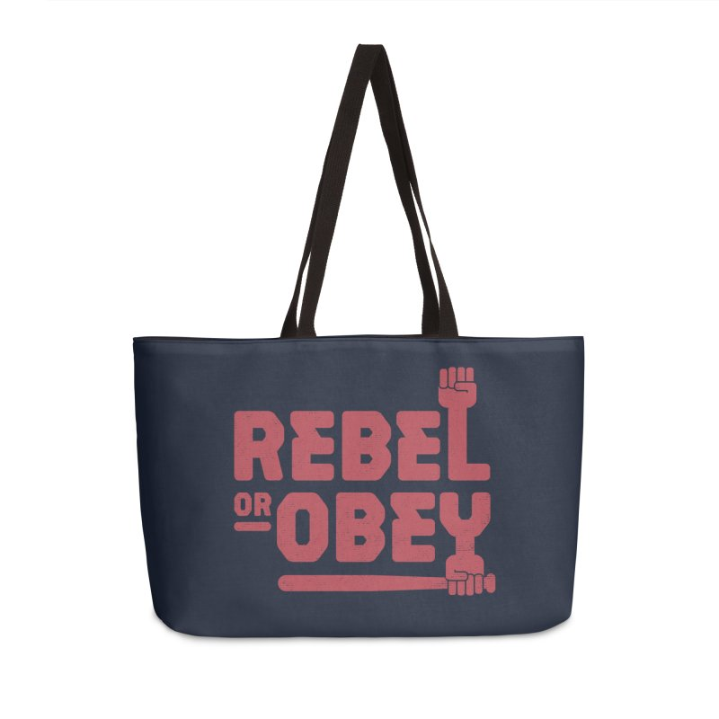 Rebel or Obey Accessories Bag by thepapercrane's shop