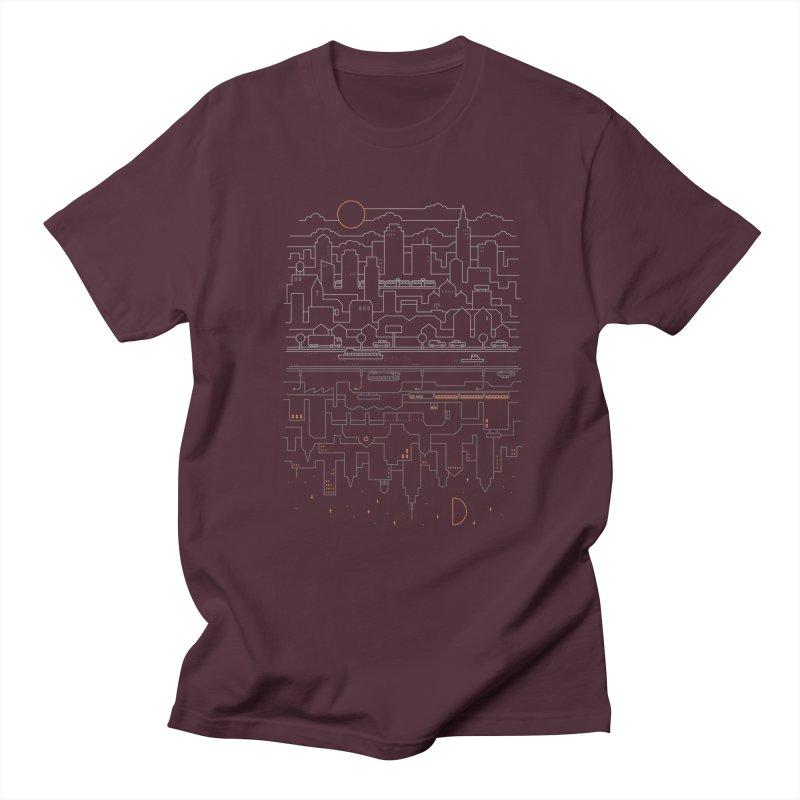 City 24 Men's T-shirt by thepapercrane's shop