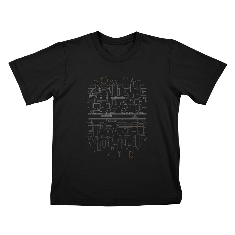 City 24 Kids T-shirt by thepapercrane's shop