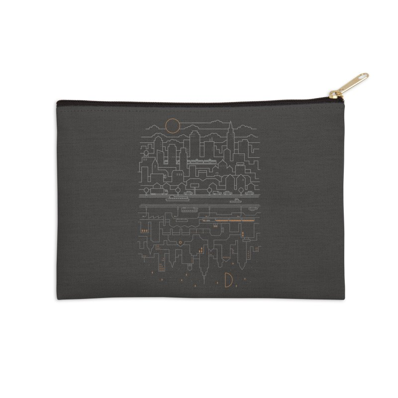 City 24 Accessories Zip Pouch by thepapercrane's shop