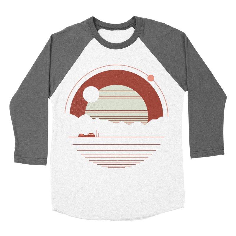 Solitude Women's Baseball Triblend T-Shirt by thepapercrane's shop