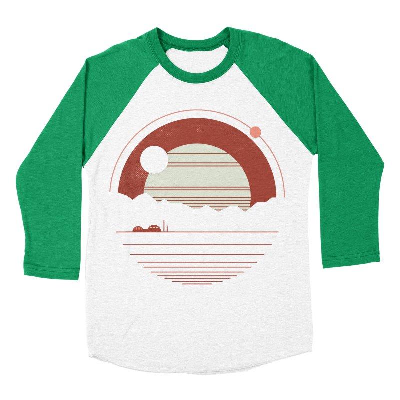 Solitude Men's Baseball Triblend T-Shirt by thepapercrane's shop