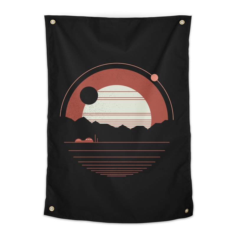 Solitude Home Tapestry by thepapercrane's shop