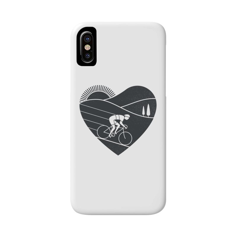 Love Cycling Accessories Phone Case by thepapercrane's shop