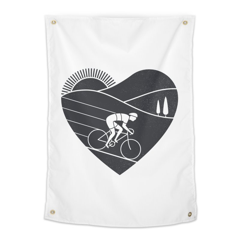 Love Cycling Home Tapestry by thepapercrane's shop