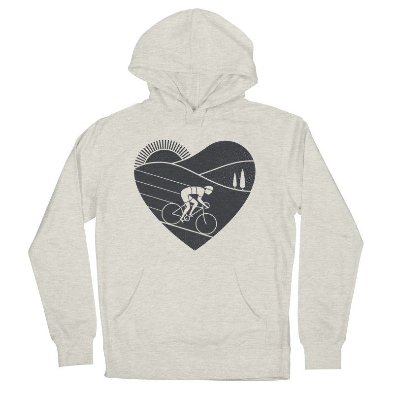 Love Cycling Men's Pullover Hoody by thepapercrane's shop