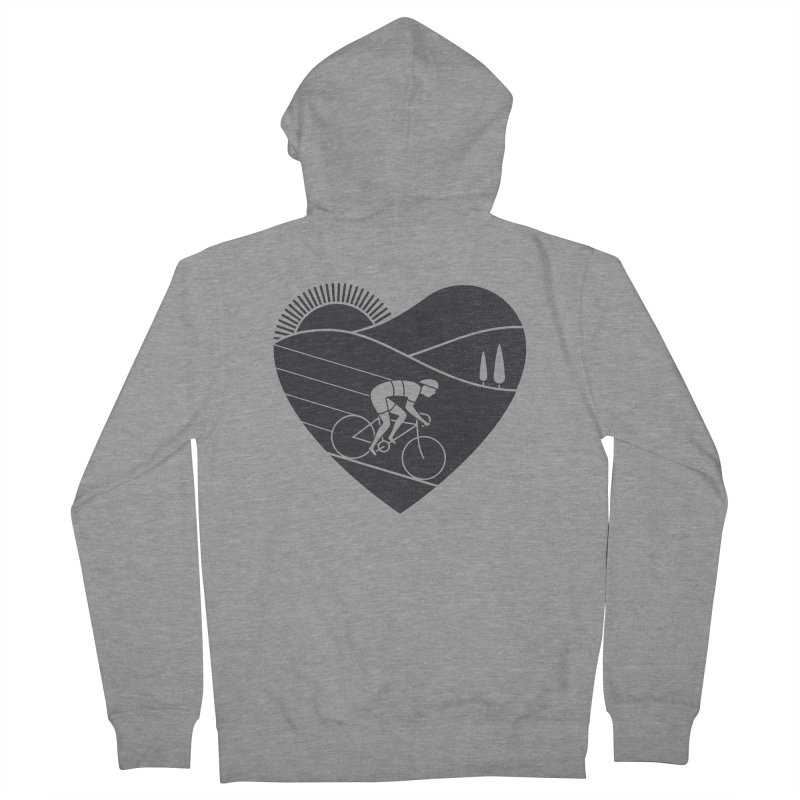 Love Cycling Women's Zip-Up Hoody by thepapercrane's shop