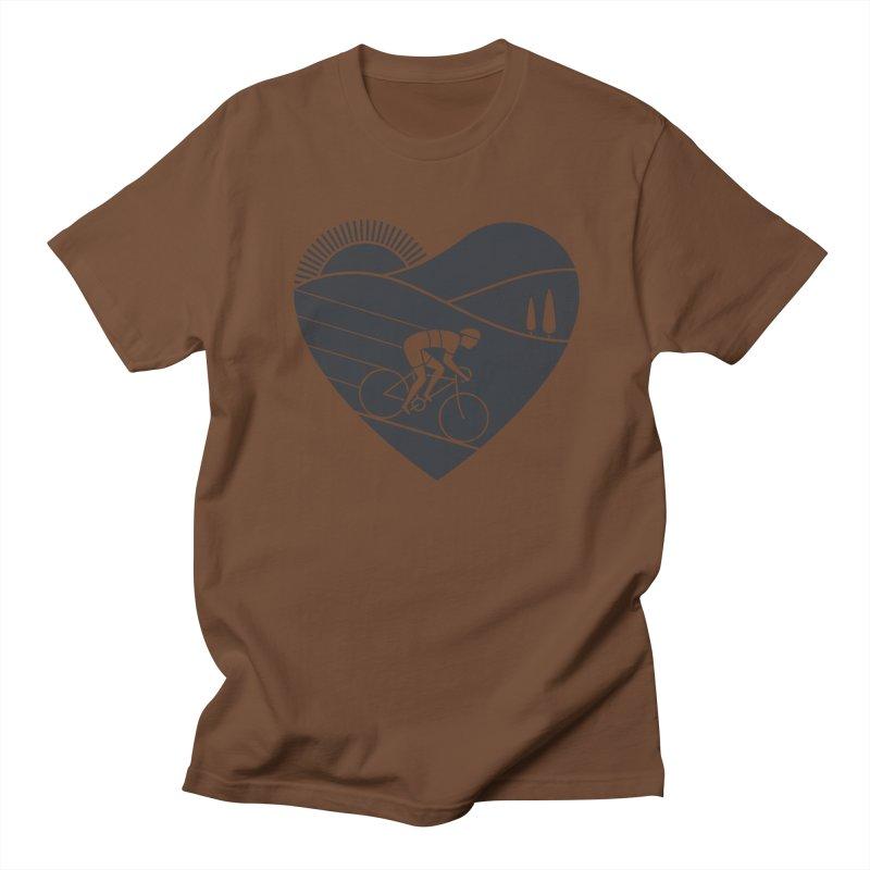 Love Cycling Men's T-shirt by thepapercrane's shop