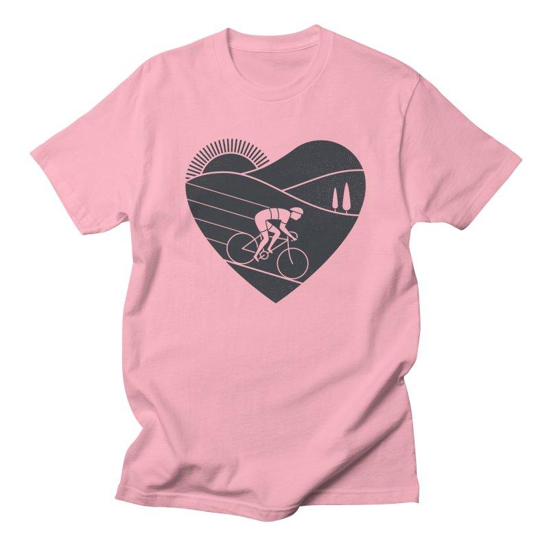 Love Cycling Women's Unisex T-Shirt by thepapercrane's shop
