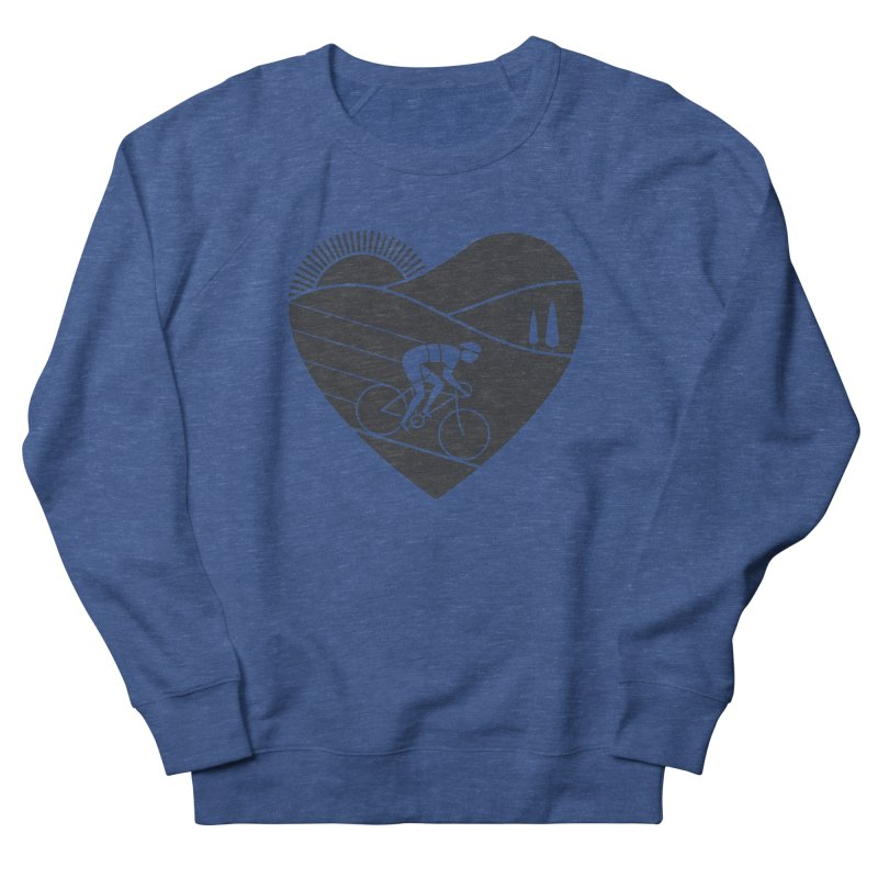 Love Cycling Men's Sweatshirt by thepapercrane's shop