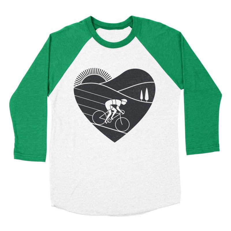 Love Cycling Women's Baseball Triblend T-Shirt by thepapercrane's shop