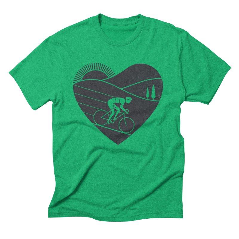 Love Cycling Men's Triblend T-shirt by thepapercrane's shop
