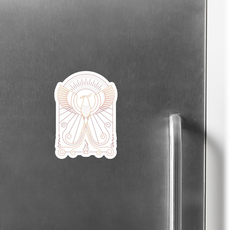 Bird of Fire Accessories Magnet by thepapercrane's shop