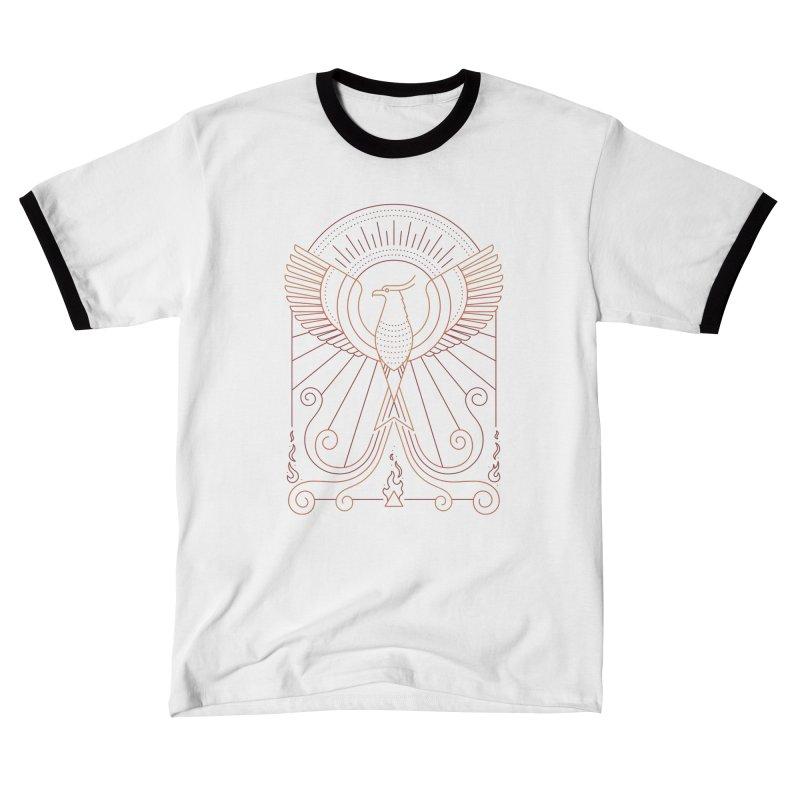 Bird of Fire Men's T-Shirt by thepapercrane's shop