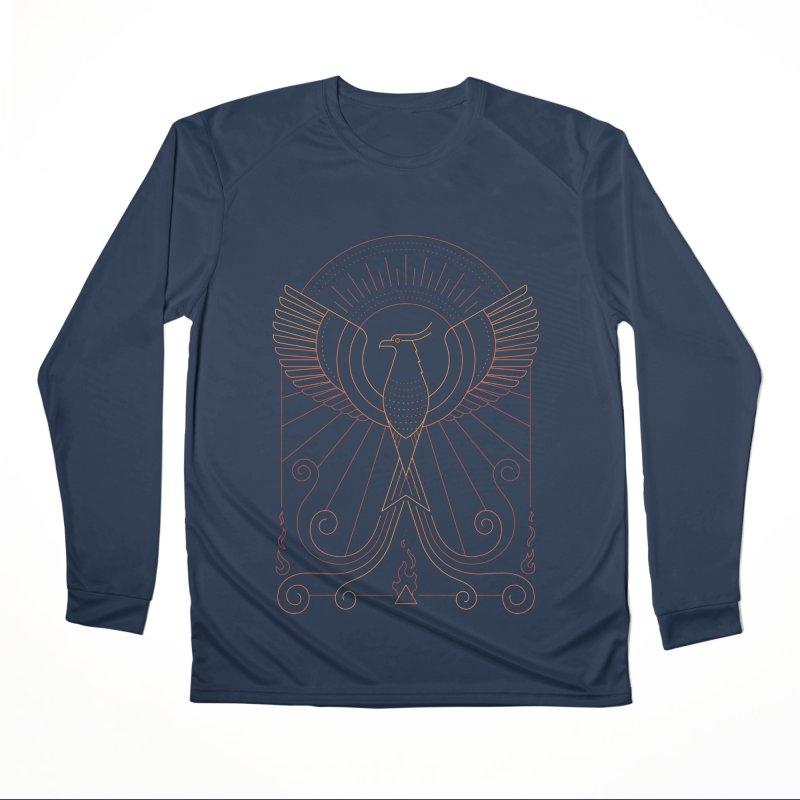 Bird of Fire Women's Longsleeve T-Shirt by thepapercrane's shop