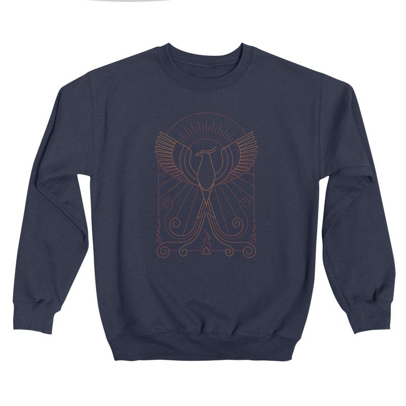 Bird of Fire Men's Sweatshirt by thepapercrane's shop
