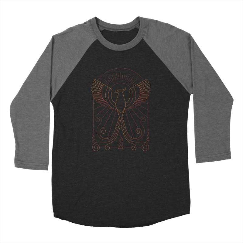 Bird of Fire Men's Longsleeve T-Shirt by thepapercrane's shop