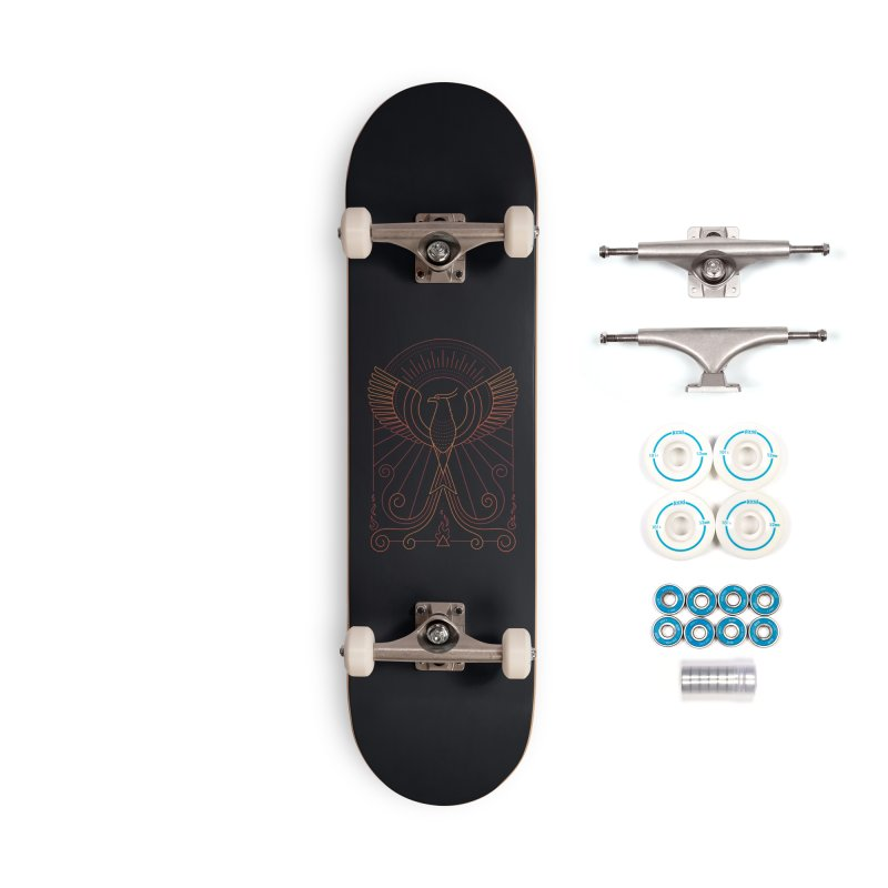 Bird of Fire Accessories Skateboard by thepapercrane's shop