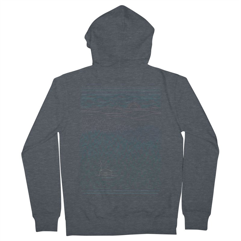 The Little Clearing Women's Zip-Up Hoody by thepapercrane's shop