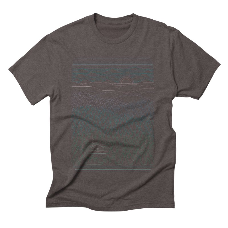 The Little Clearing Men's Triblend T-shirt by thepapercrane's shop