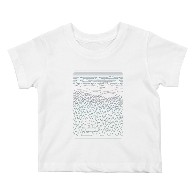 The Little Clearing Kids Baby T-Shirt by thepapercrane's shop