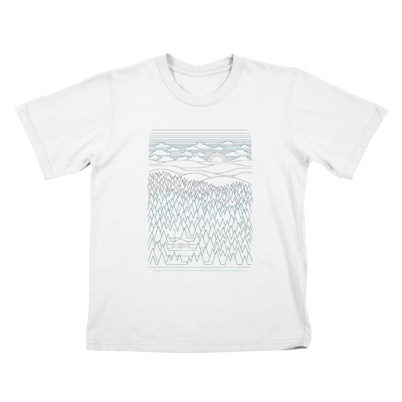 The Little Clearing Kids T-shirt by thepapercrane's shop