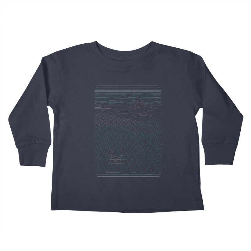 The Little Clearing Kids Toddler Longsleeve T-Shirt by thepapercrane's shop