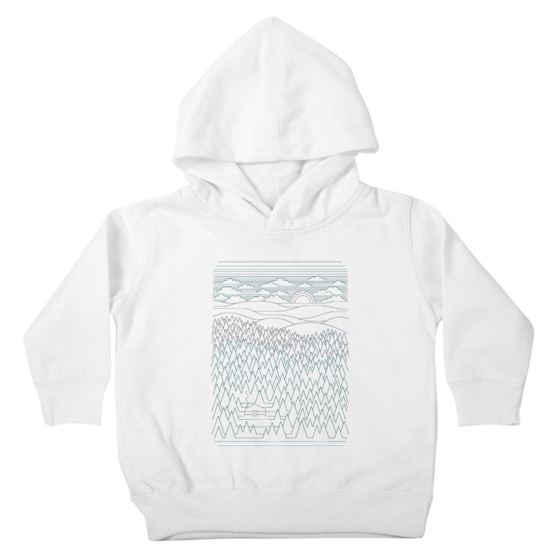 The Little Clearing Kids Toddler Pullover Hoody by thepapercrane's shop