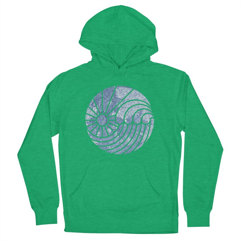 Sea of Serenity Men's Pullover Hoody by thepapercrane's shop