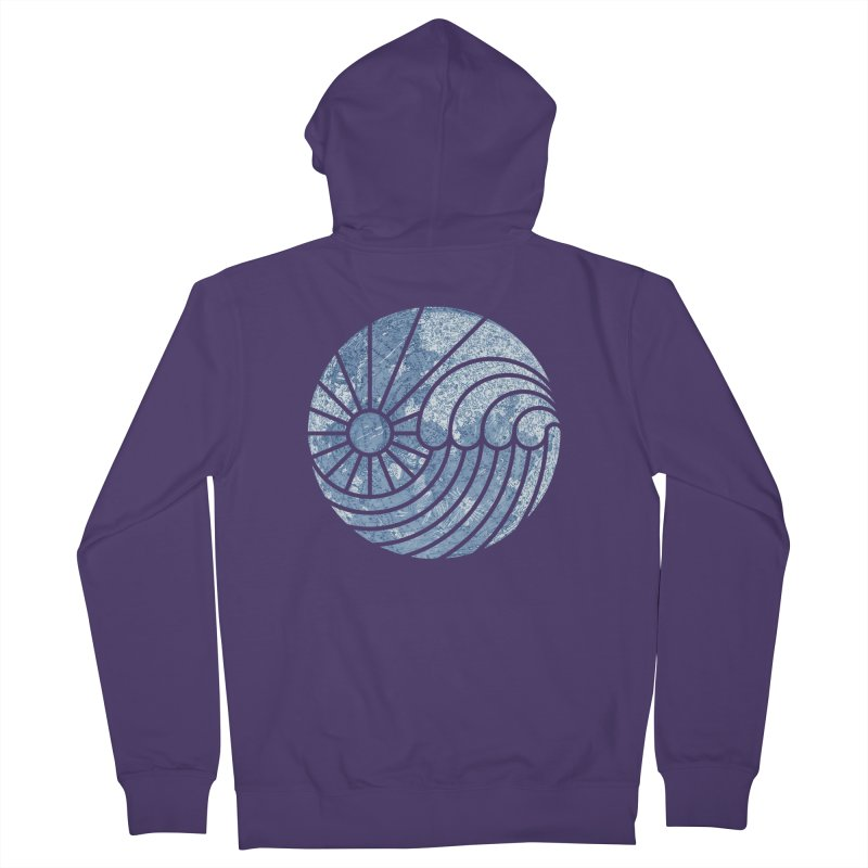 Sea of Serenity Women's Zip-Up Hoody by thepapercrane's shop