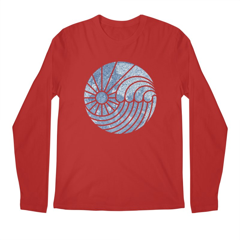 Sea of Serenity Men's Longsleeve T-Shirt by thepapercrane's shop