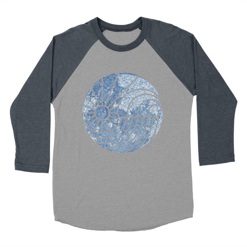 Sea of Serenity Women's Baseball Triblend T-Shirt by thepapercrane's shop