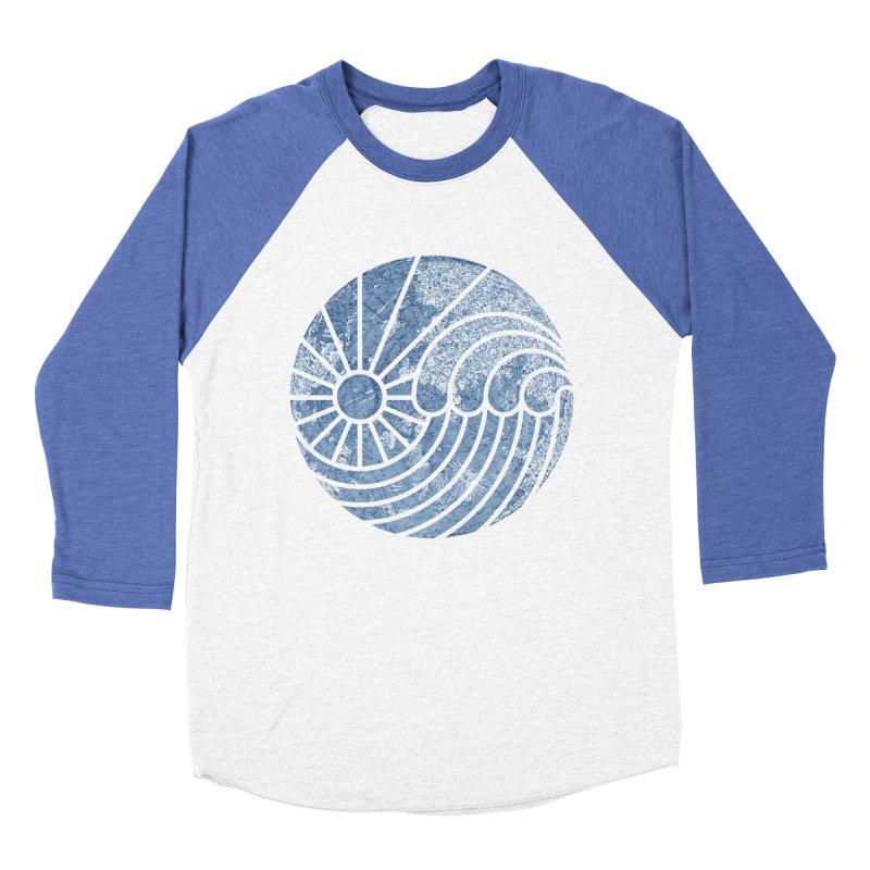 Sea of Serenity Men's Baseball Triblend T-Shirt by thepapercrane's shop