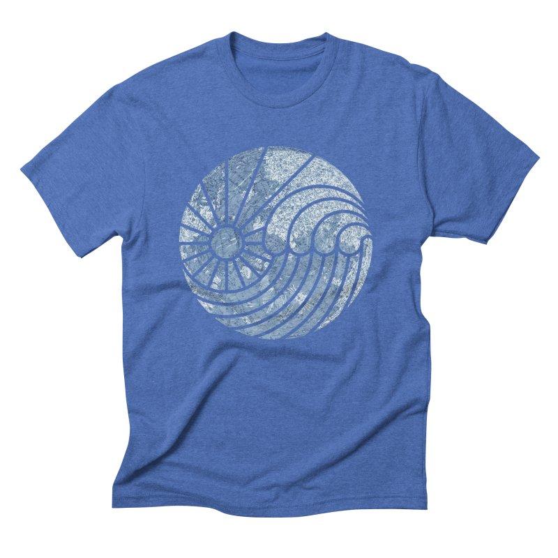 Sea of Serenity Men's Triblend T-shirt by thepapercrane's shop