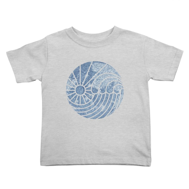 Sea of Serenity Kids Toddler T-Shirt by thepapercrane's shop