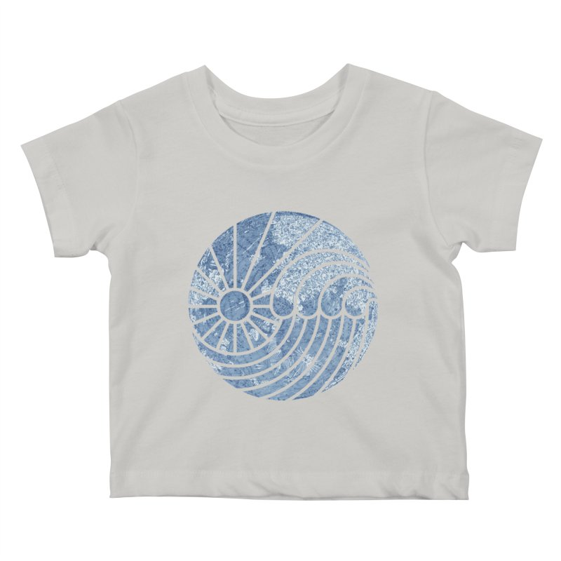 Sea of Serenity Kids Baby T-Shirt by thepapercrane's shop