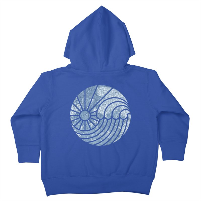 Sea of Serenity Kids Toddler Zip-Up Hoody by thepapercrane's shop
