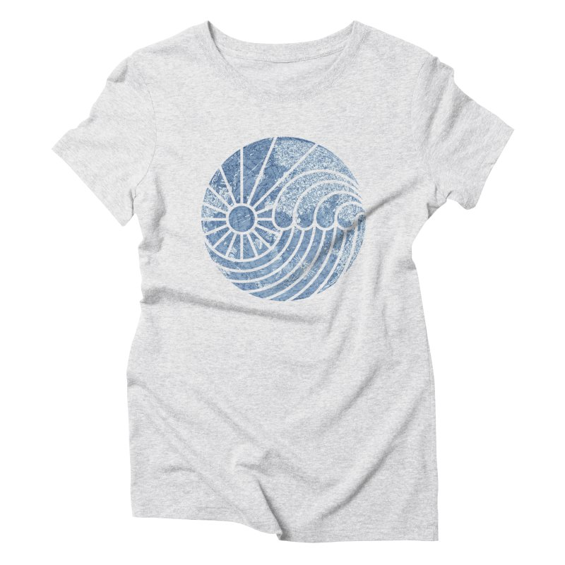 Sea of Serenity Women's Triblend T-shirt by thepapercrane's shop