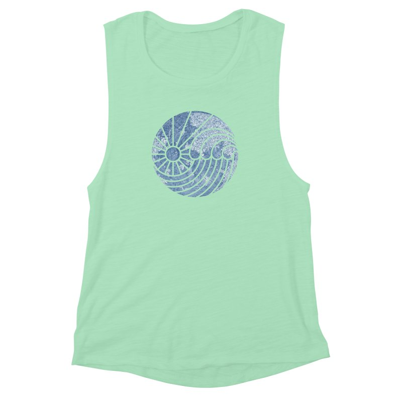 Sea of Serenity Women's Muscle Tank by thepapercrane's shop