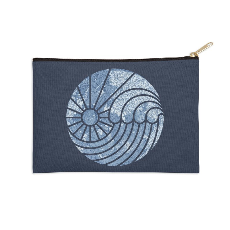Sea of Serenity Accessories Zip Pouch by thepapercrane's shop