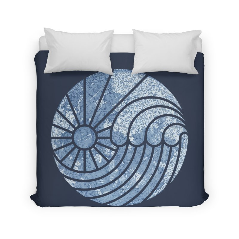 Sea of Serenity Home Duvet by thepapercrane's shop