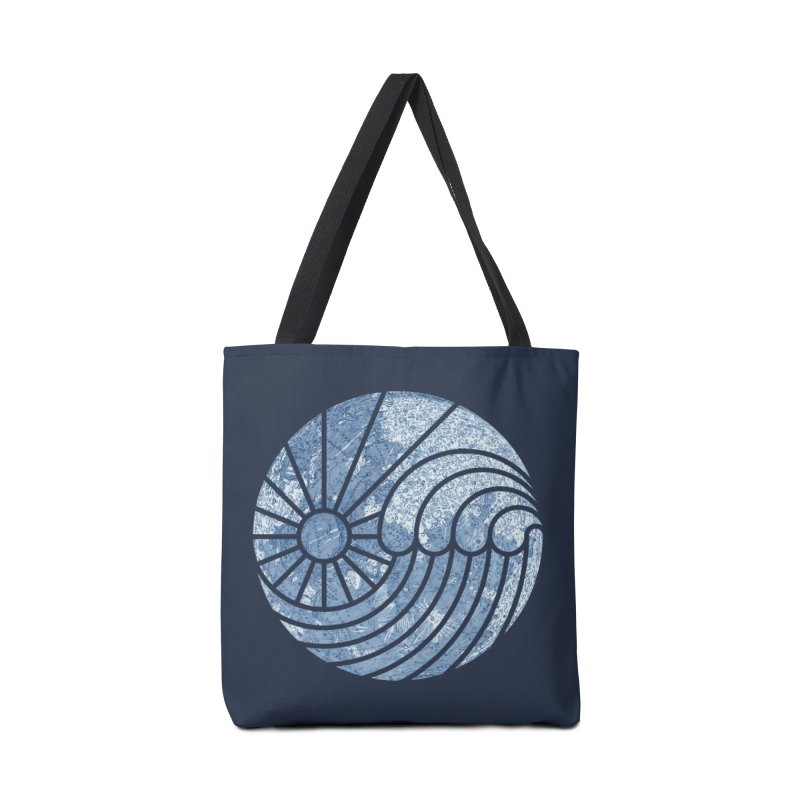 Sea of Serenity Accessories Bag by thepapercrane's shop