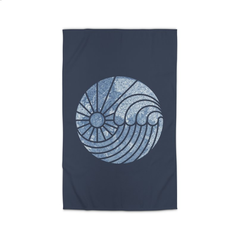 Sea of Serenity Home Rug by thepapercrane's shop