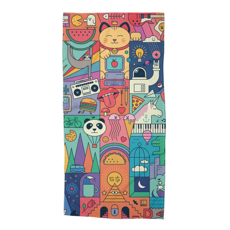 The Big Tee Accessories Beach Towel by thepapercrane's shop