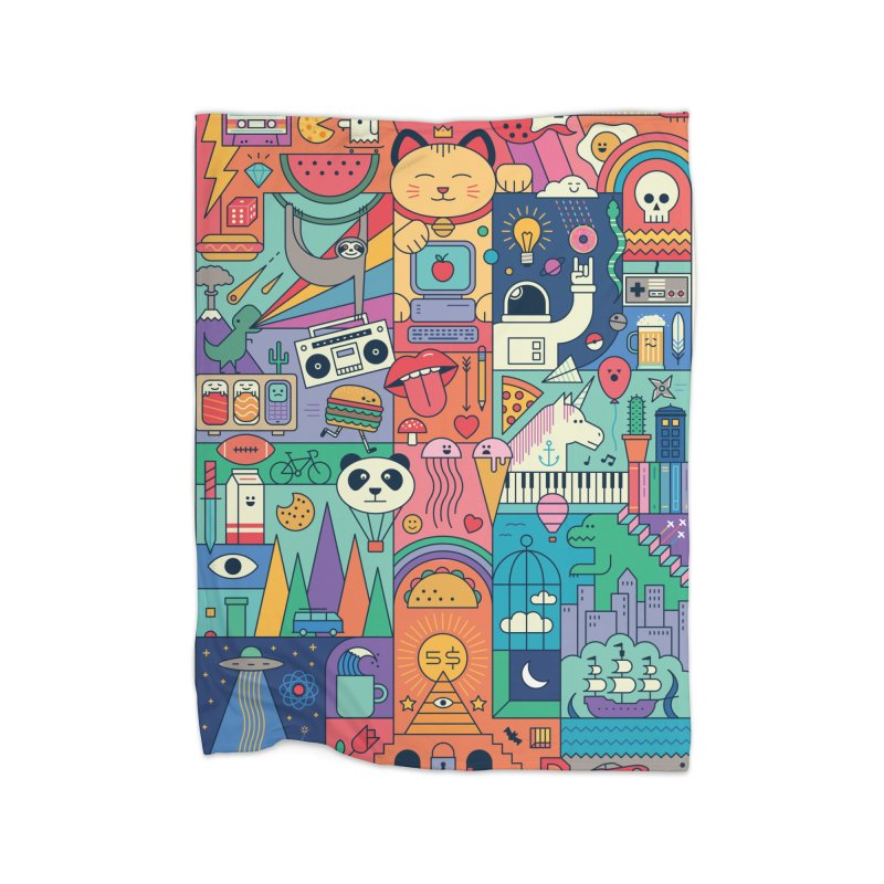 The Big Tee Home Blanket by thepapercrane's shop