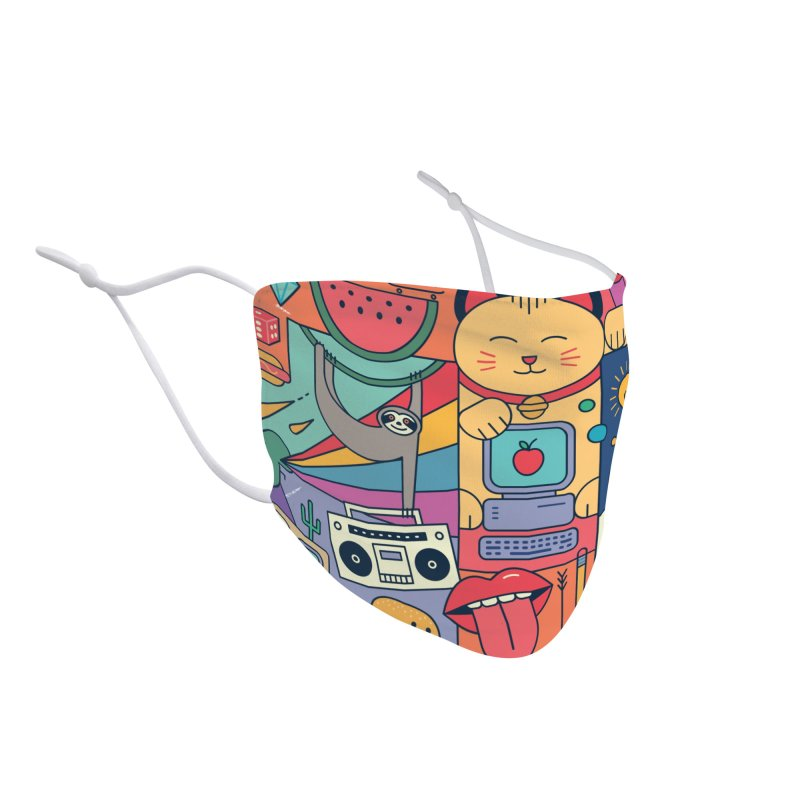 The Big Tee Accessories Face Mask by thepapercrane's shop